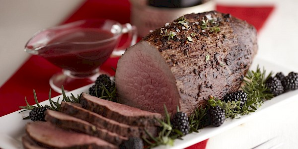 Blackberry Cabernet Roast Eye of Round