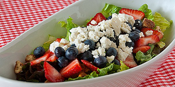 Red White & Blue Salad
