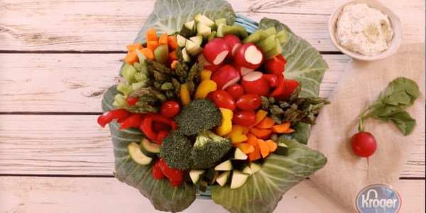 Easter Vegetable Basket